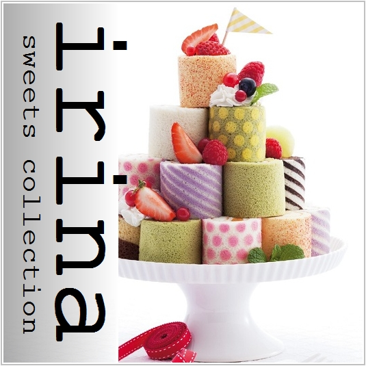 誕生日ケーキはイリナロールケーキ
