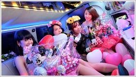 イベントで使えるリムジンパーティーは東京の観光スポットをプロのカメラマンが撮影します。6時間ロングのパーティーなので結婚式や2次会パーティーでも使えるリムジンパーティーです