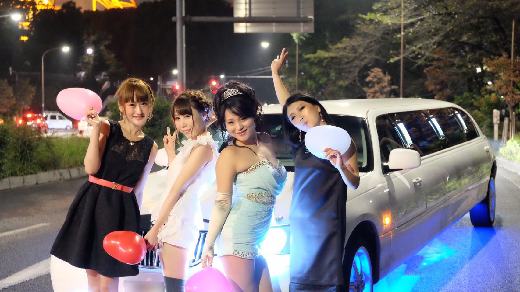 東京タワーで撮影して女子会で乾杯