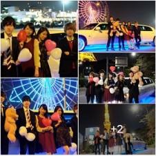 誕生日のお祝いはLIMO JAPAN∞