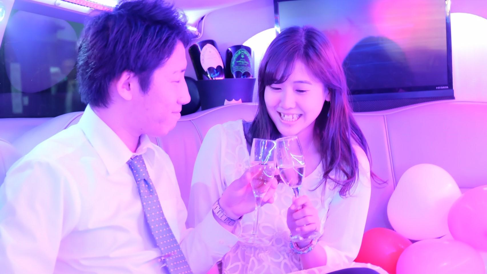 リムジンカップルおすすめ東京デート