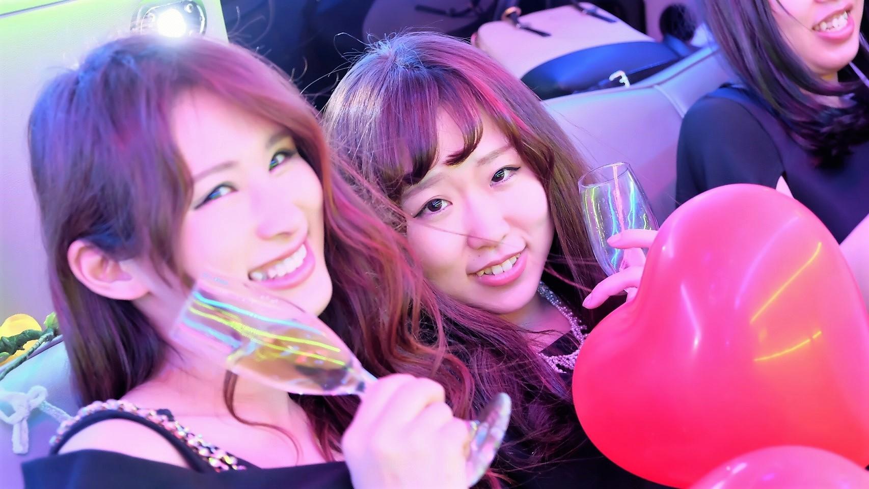 リムジンパーティーが格安で東京で使える