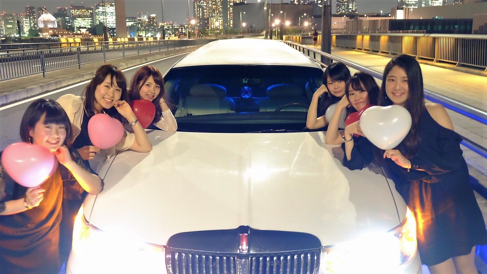 リムジンパーティー東京ツアー