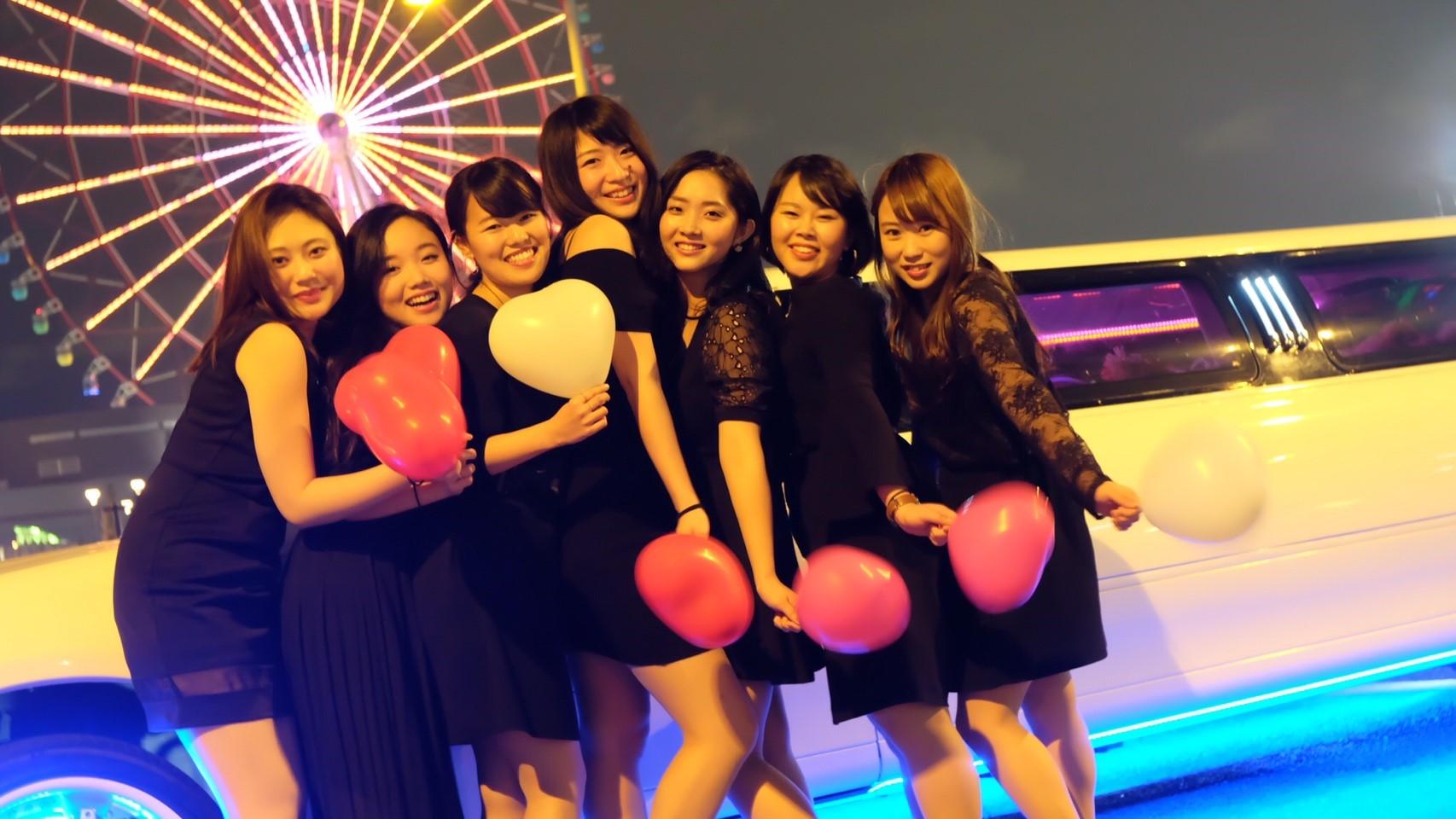 東京のリムジンパーティーするなら杉並区の画像