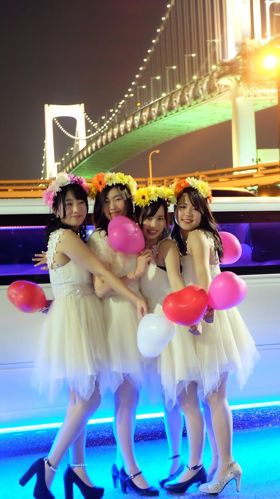 リムジンパーティーを東京でするなら