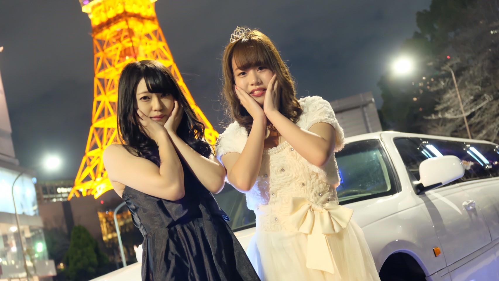 東京タワーにリムジンで行きました。リムジンパーティーを格安でするならLIMO JAPAN∞