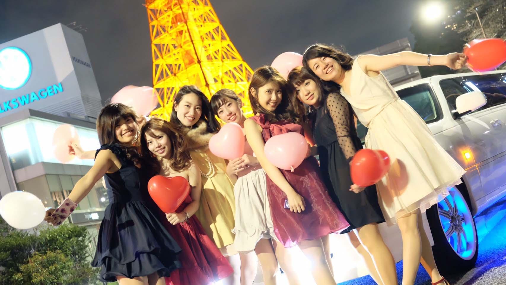 東京の大田区でリムジンパーティーを探すならLIMO JAPAN∞