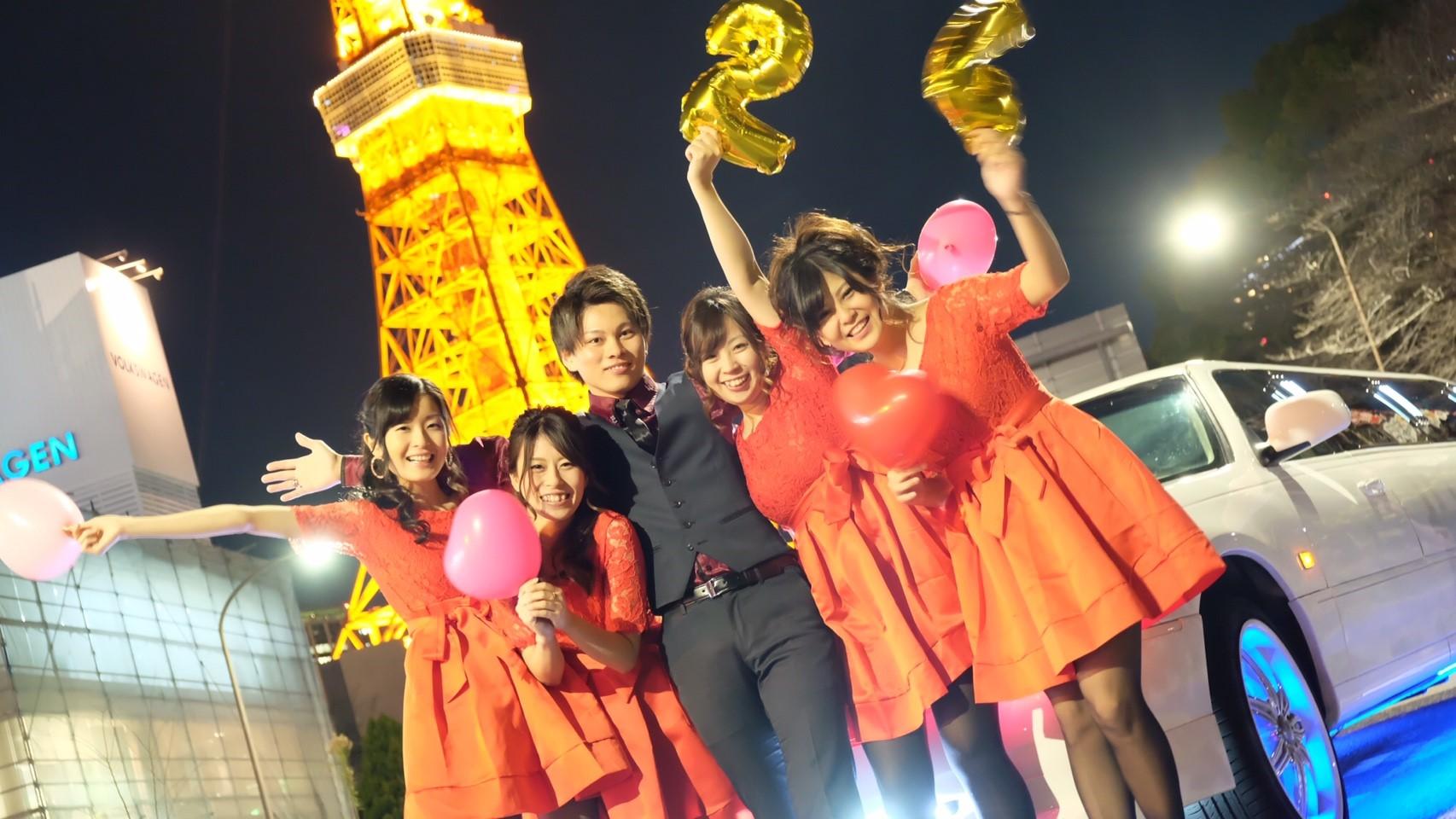 東京タワーでサプライズ24歳Birthday