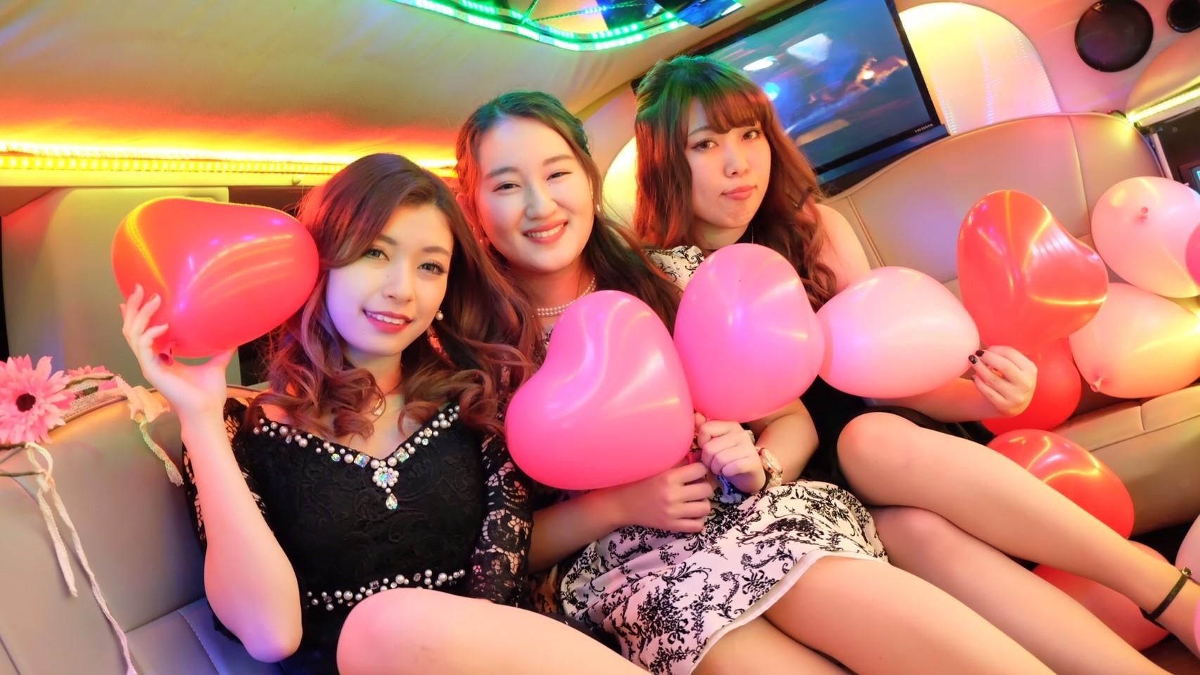 リムジン女子会東京の画像