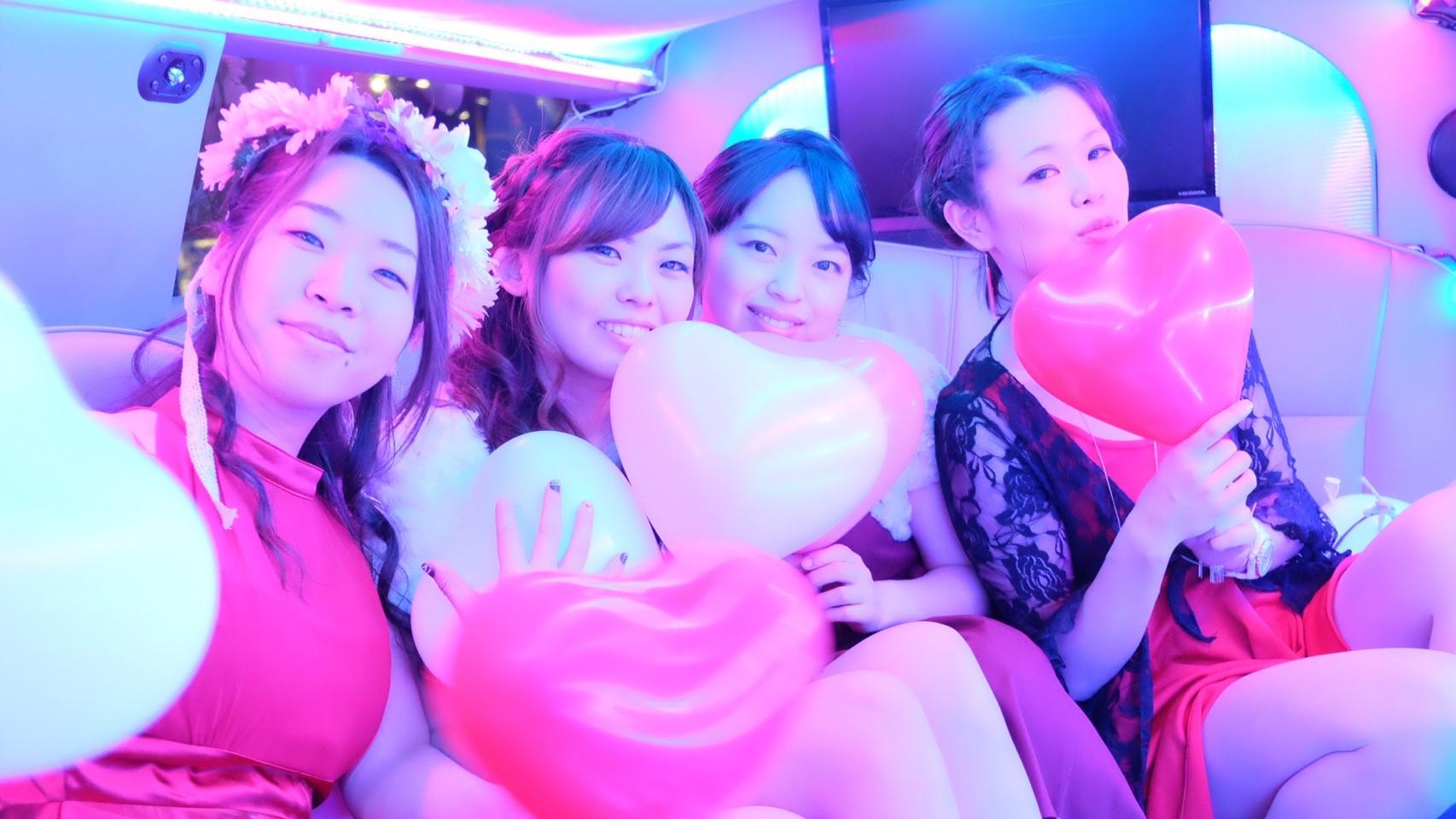 リムジンパーティー東京格安プラン