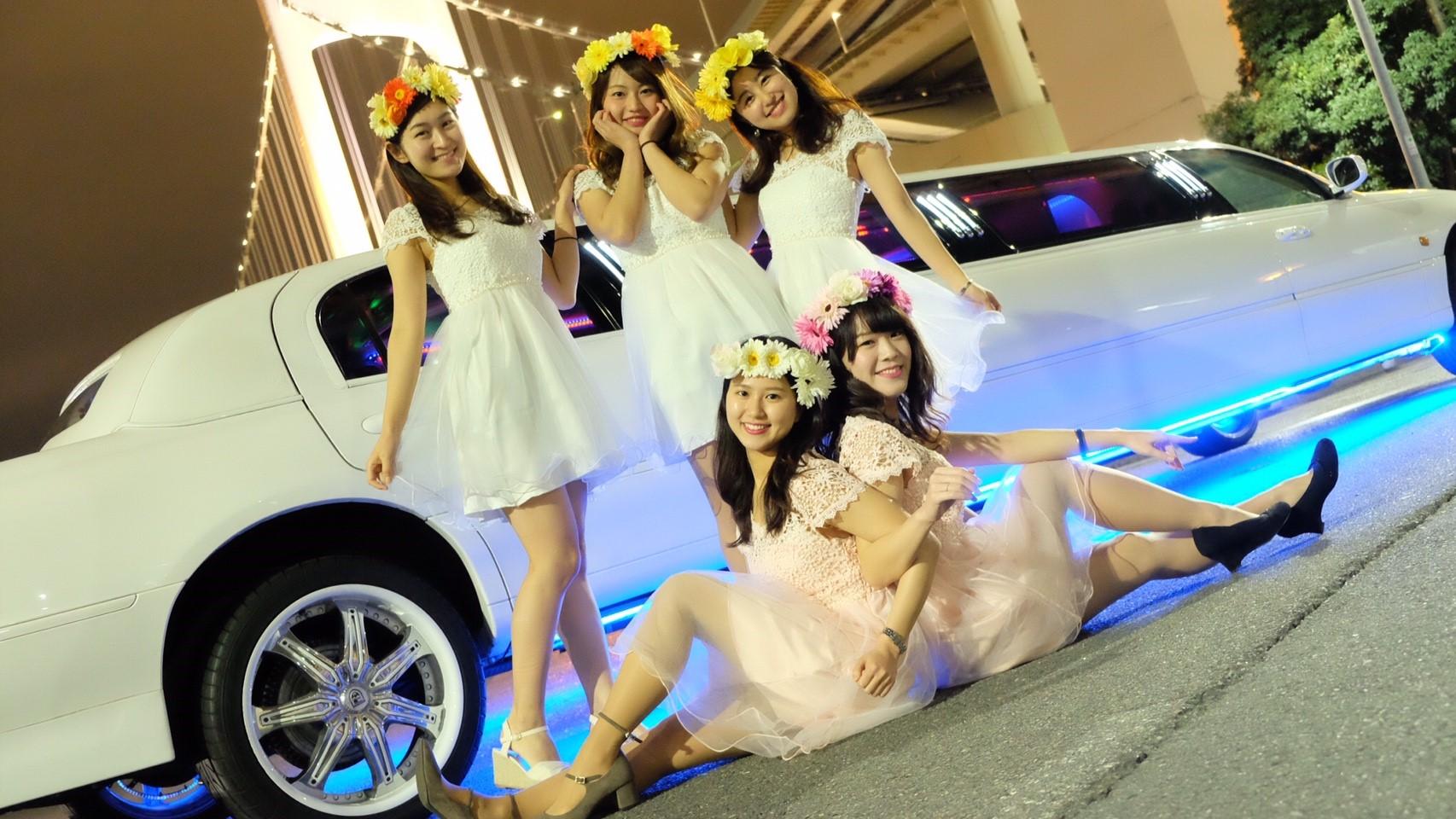 女子会リムジンパーティー
