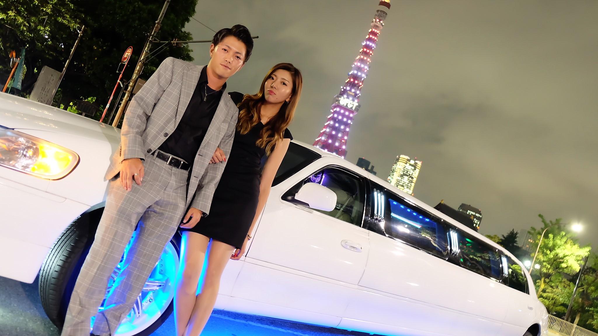 東京タワーで憧れのリムジンデート