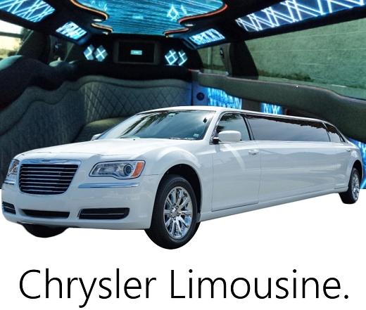 リムジンレンタル|リムジン車種クライスラー300リムジン