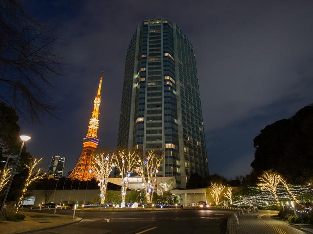 ザ・プリンスパーク東京のイルミネーション2017