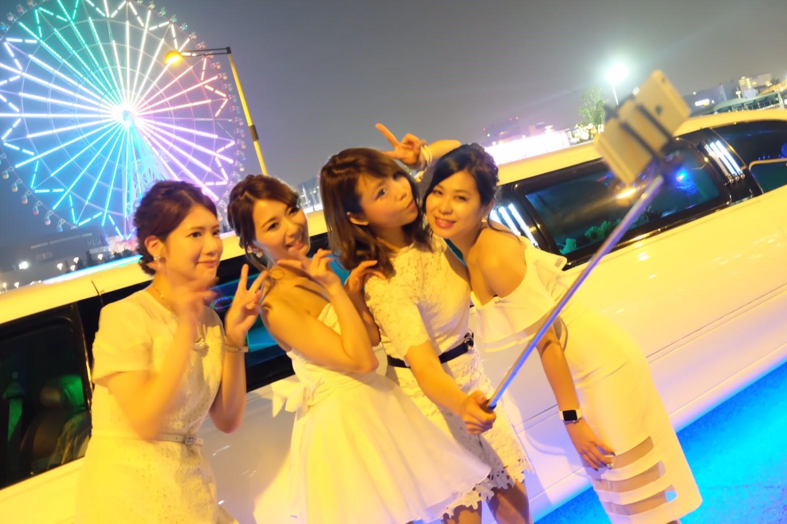 東京お台場観覧車×リムジン (14)
