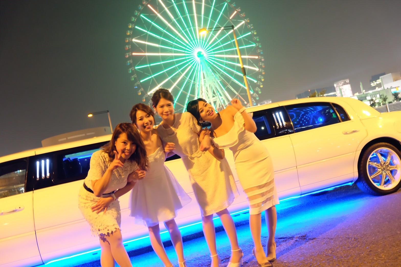 東京お台場観覧車×リムジン (23)
