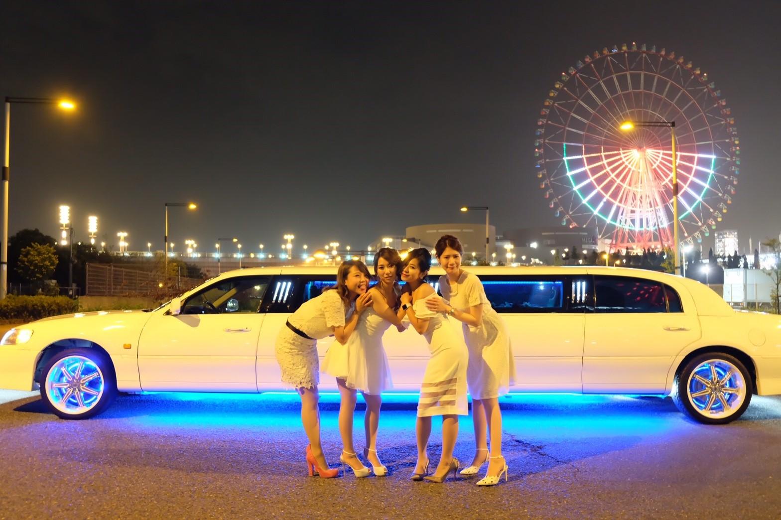 東京お台場観覧車×リムジン (24)
