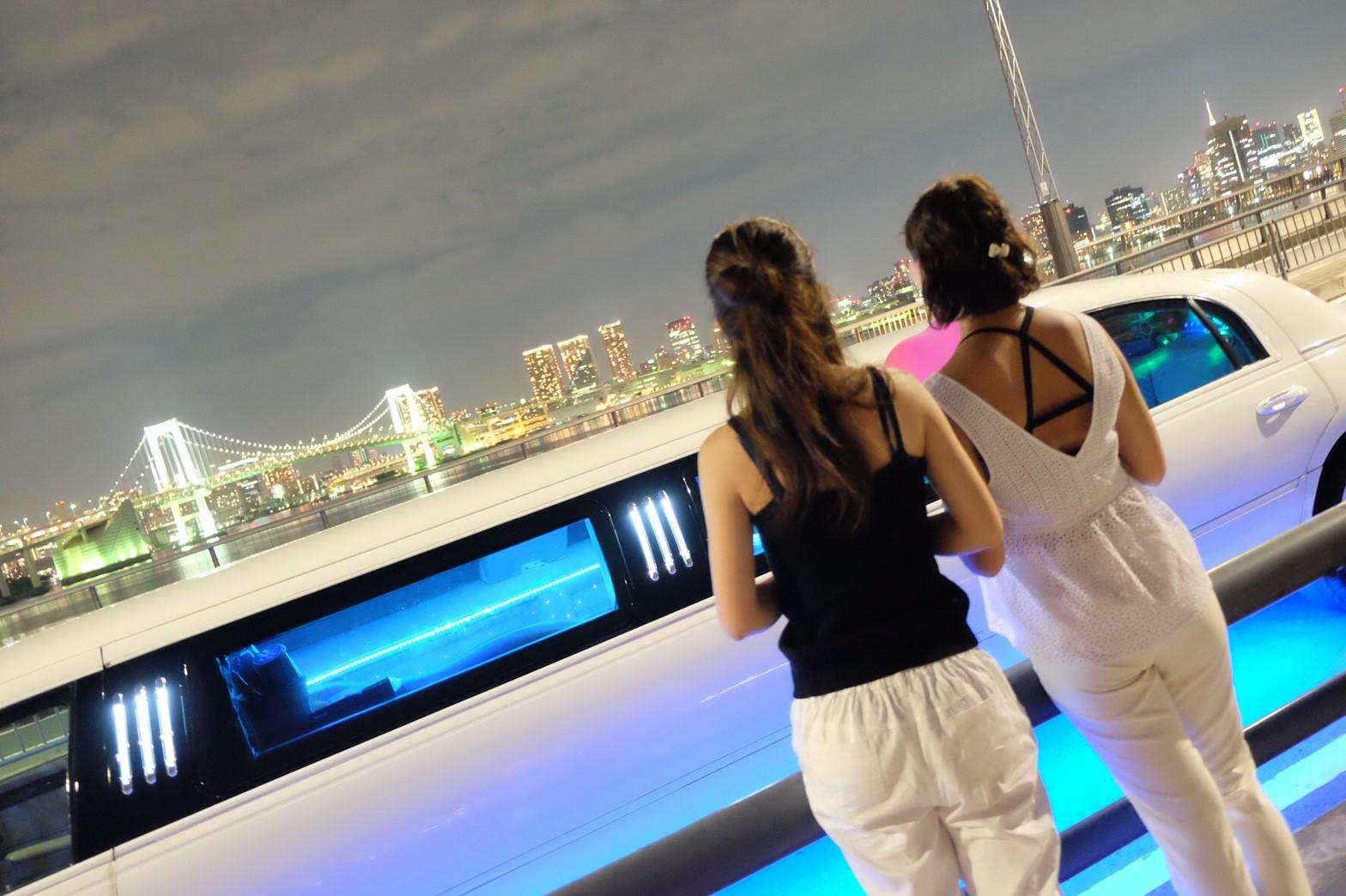 東京の夜景にうっとり