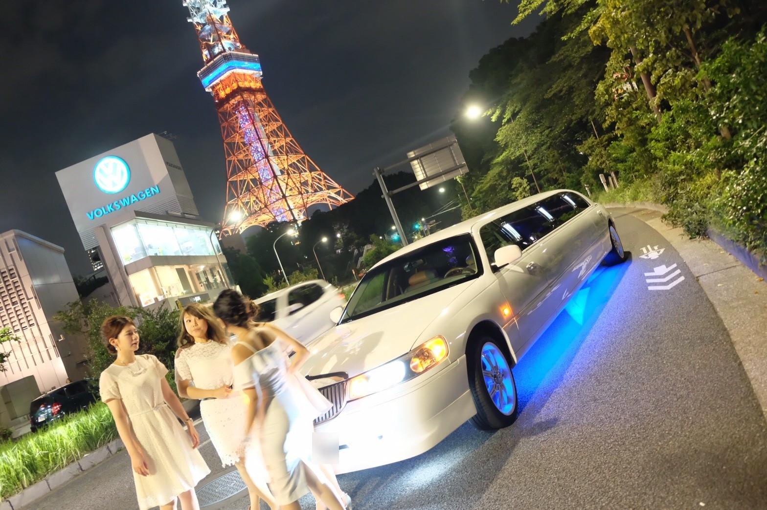 東京タワー×リムジン (17)