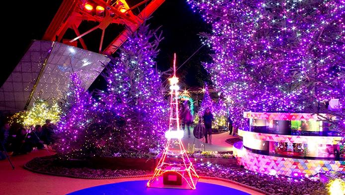 2015年東京タワーイルミネーション