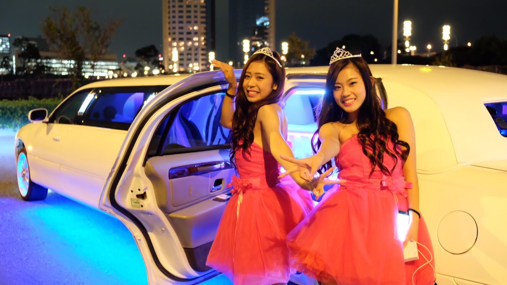 ピンクドレス 3