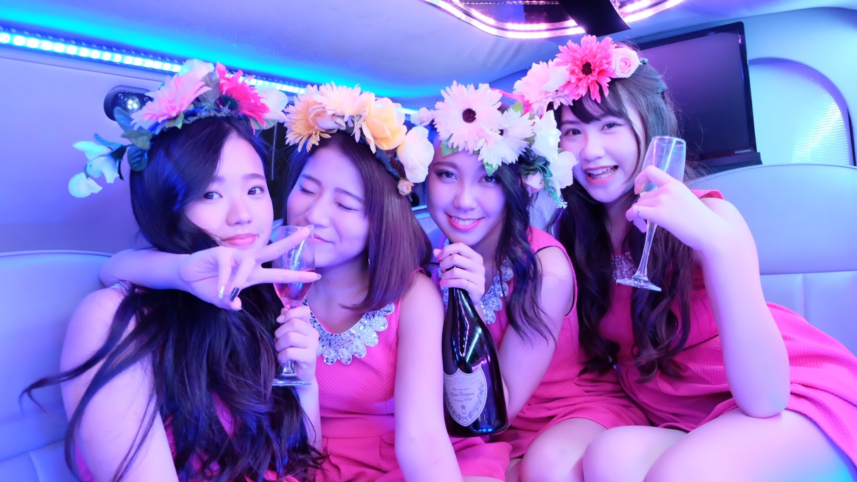 ピンクドレス 4