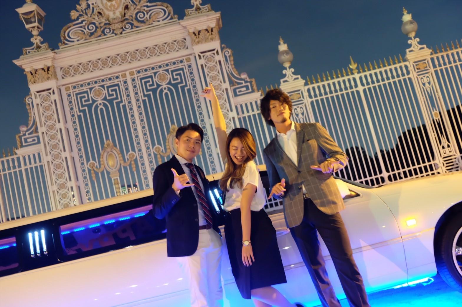 リムジンでパーティーが楽しめるリムジンパーティー東京 (20)