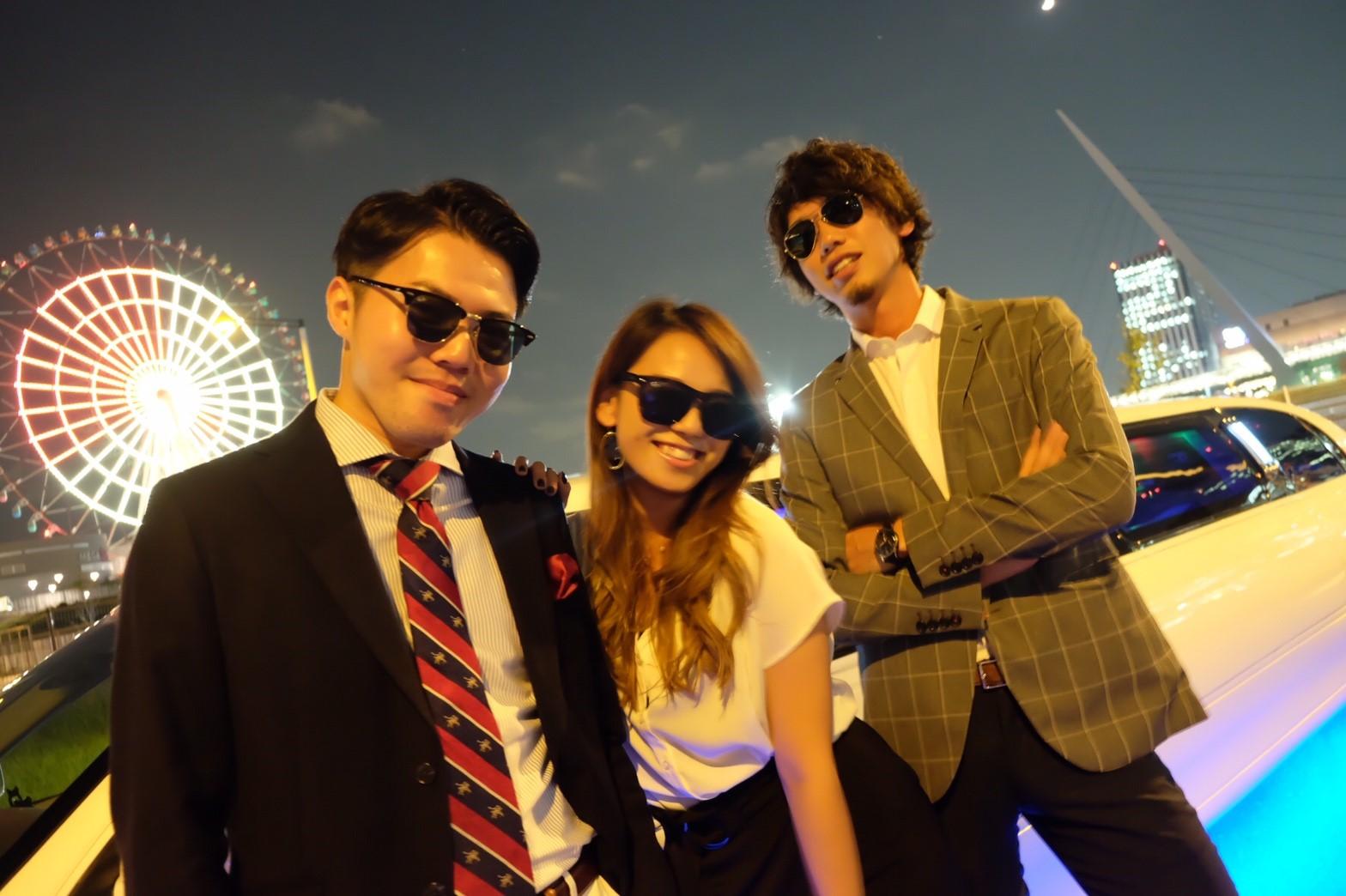 リムジンでパーティーが楽しめるリムジンパーティー東京 (26)