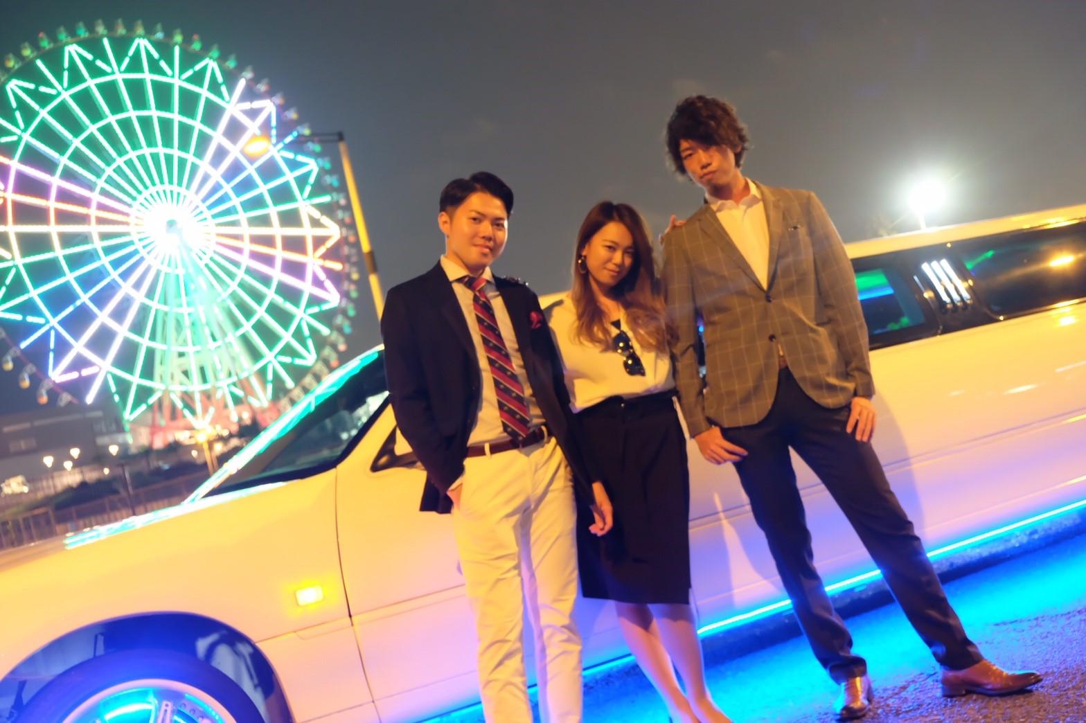 リムジンでパーティーが楽しめるリムジンパーティー東京 (29)