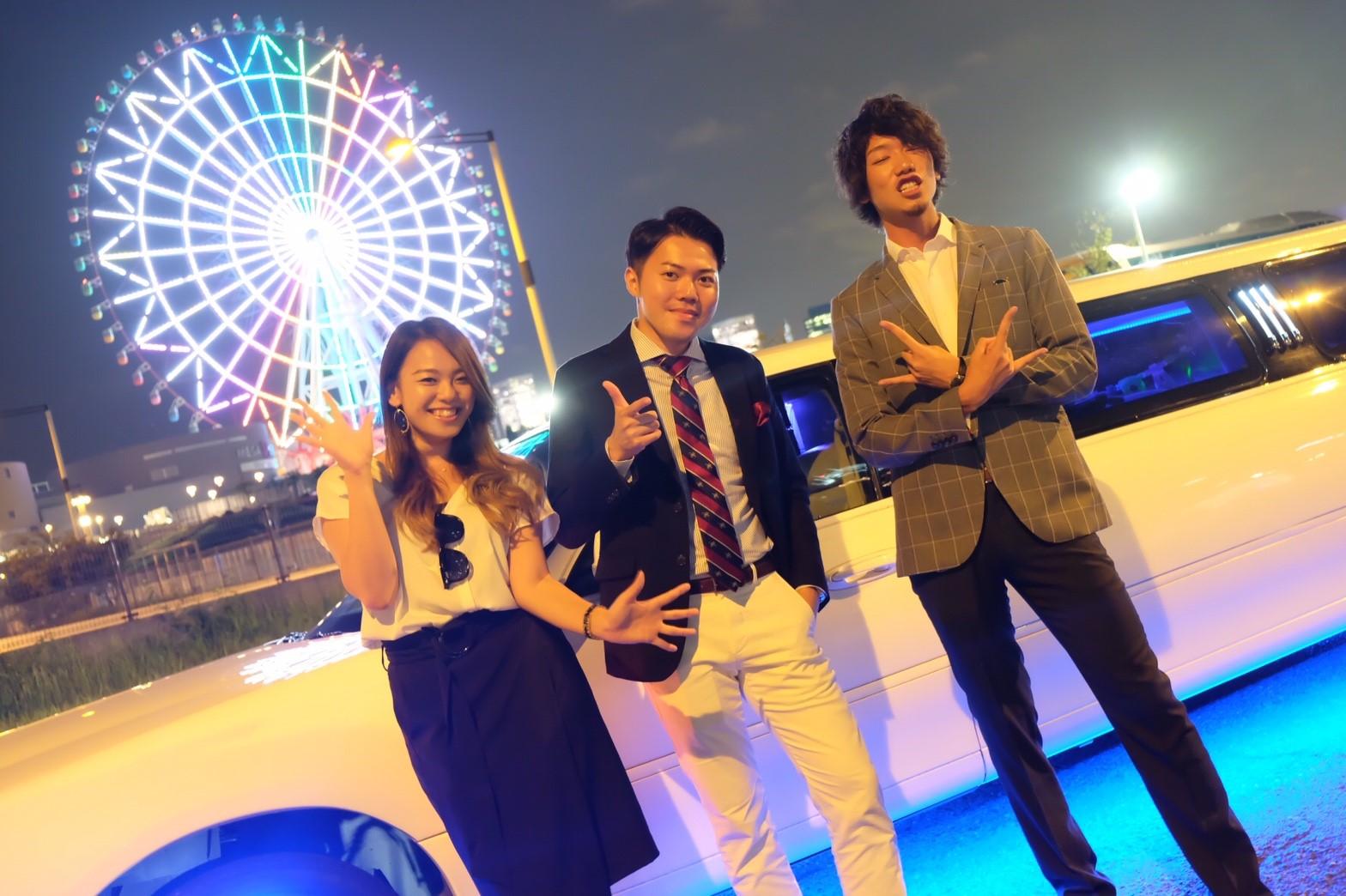 リムジンでパーティーが楽しめるリムジンパーティー東京 (31)