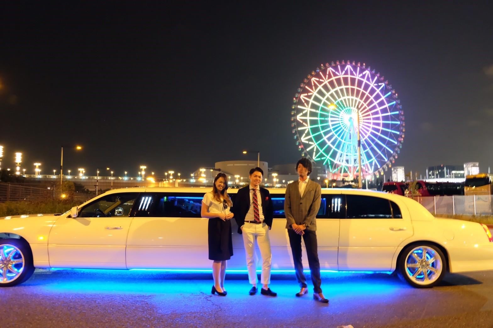 リムジンでパーティーが楽しめるリムジンパーティー東京 (35)