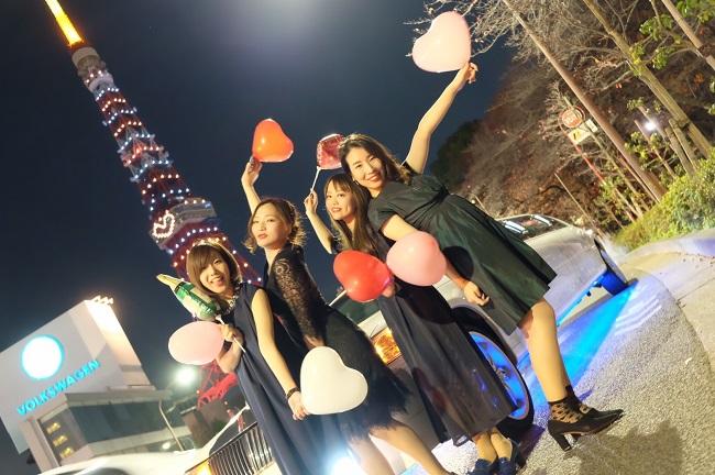リムジンパーティー・東京タワー