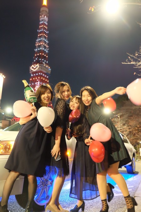 東京タワー 撮影