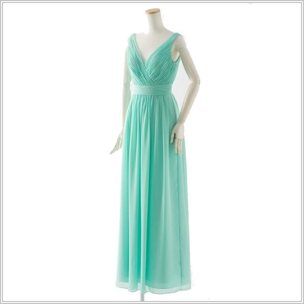 グリーン緑系・ブライズドレス