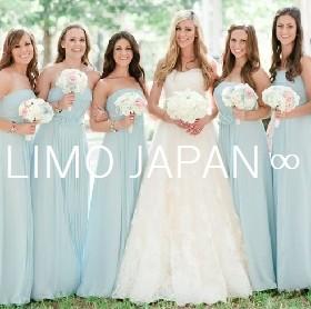 【ブライズメイド】結婚式当日そのままリムジンパーティーで盛上がろう