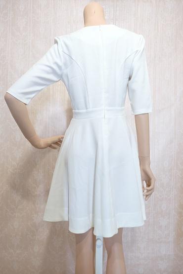 リムジンパーティードレス ホワイトドレスNo1