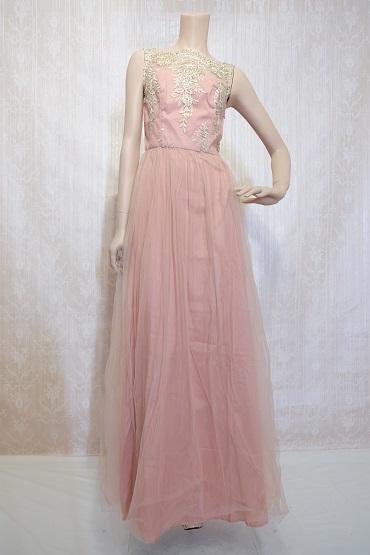 リムジンパーティードレス ピンクドレスNo12