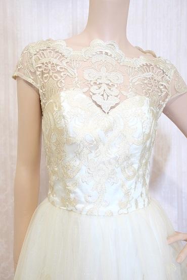 リムジンパーティードレス ホワイトドレスNo10