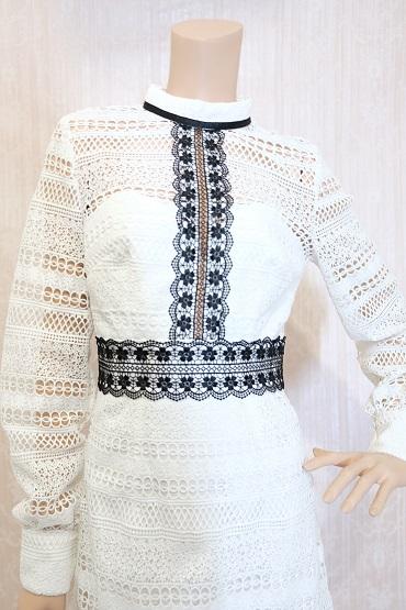 リムジンパーティードレス ホワイトドレスNo11