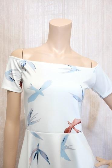 リムジンパーティードレス ホワイトドレスNo4