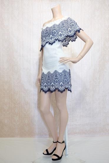 リムジンパーティードレス ホワイトドレスNo5