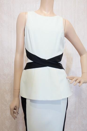 リムジンパーティードレス ホワイトドレスNo6