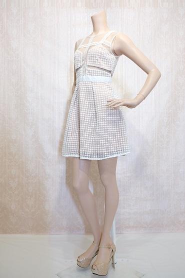 リムジンパーティードレス ホワイトドレスNo9