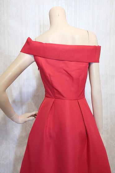 リムジンパーティードレス 赤ドレスNo3