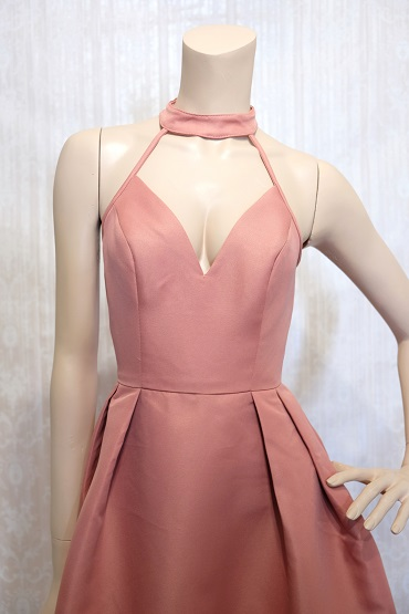 リムジンパーティードレス ピンクドレスNo1